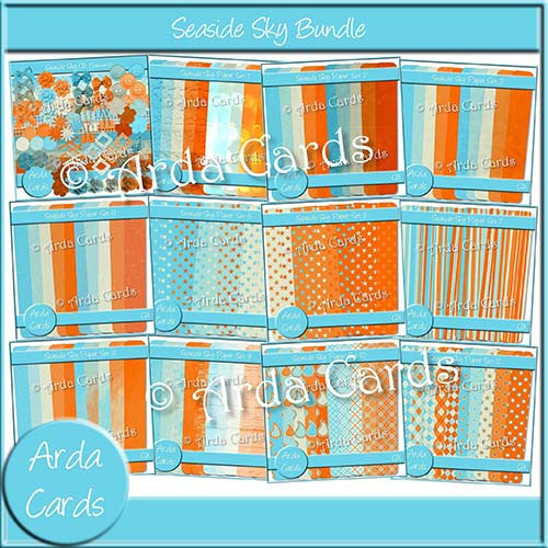Seaside Sky Bundle - The Printable Craft Shop