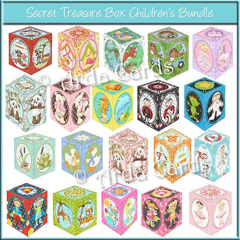 Secret Treasure Box Children's Bundle