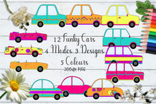 Load image into Gallery viewer, Sherbet Dip Cars CU Clipart