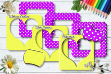 Load image into Gallery viewer, Sherbet Dip Square Frames CU Clipart Set 1