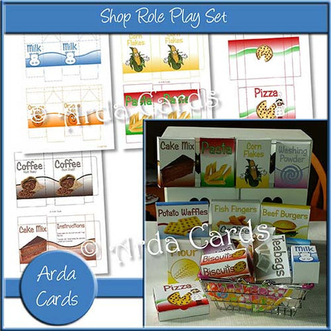 Shop Role Play Printables