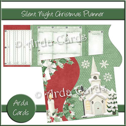 Silent Night Printable Christmas Planner