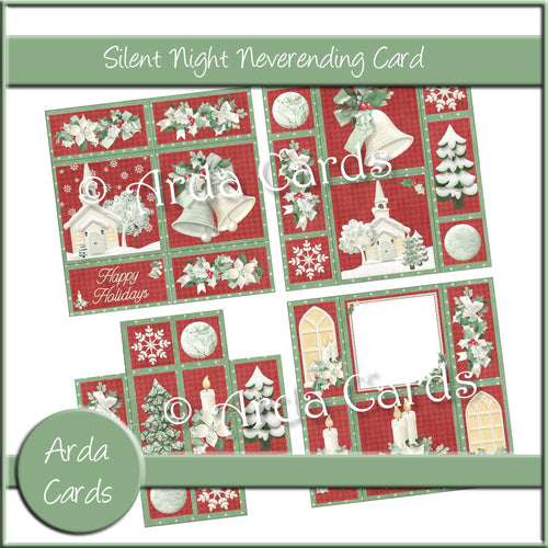 Silent Night Neverending Card