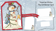 Christmas Pop Out Banner Card Bundle - The Printable Craft Shop - 11