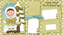 Christmas Pop Out Banner Card Bundle - The Printable Craft Shop - 3