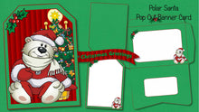 Christmas Pop Out Banner Card Bundle - The Printable Craft Shop - 6