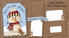 Christmas Pop Out Banner Card Bundle - The Printable Craft Shop - 7