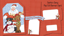Christmas Pop Out Banner Card Bundle - The Printable Craft Shop - 8
