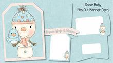 Christmas Pop Out Banner Card Bundle - The Printable Craft Shop - 10