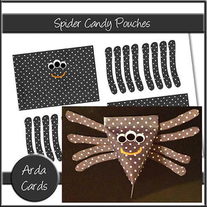 Spider Candy Pouches - The Printable Craft Shop