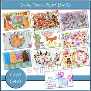 Sticky Notes Holder Bundle