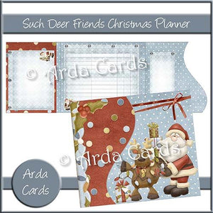 Such Deer Friends Printable Christmas Planner