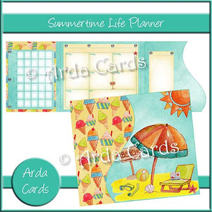 Summertime Life Planner - The Printable Craft Shop