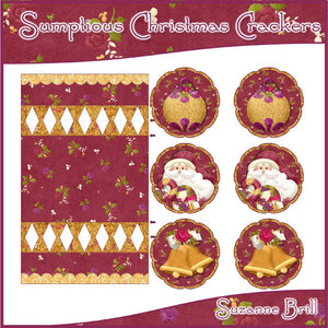 Sumptuous Christmas Crackers - The Printable Craft Shop