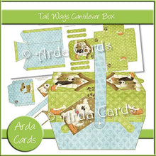 Load image into Gallery viewer, Tail Wags Cantilever Box - The Printable Craft Shop