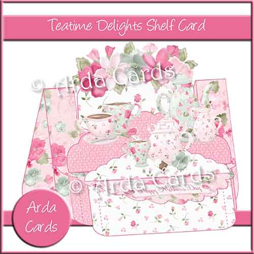 Teatime Delights Shelf Card