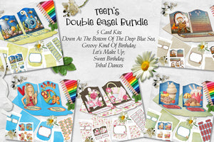 Teen's Double Easel Card Bundle