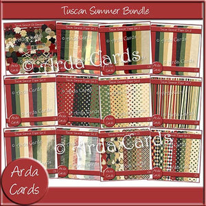 Tuscan Summer Bundle - The Printable Craft Shop