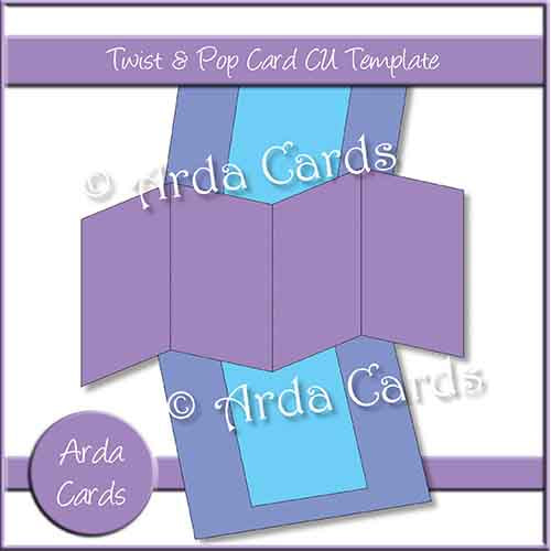 Twist & Pop Card CU Template