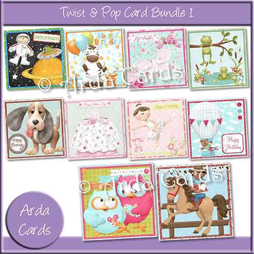 Twist & Pop Card Bundle 1