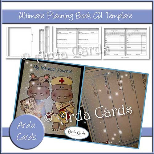 Ultimate Planning Book CU Template