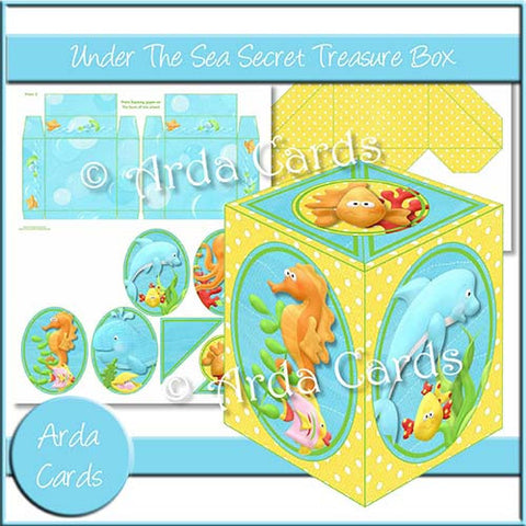 Under The Sea Secret Treasure Box