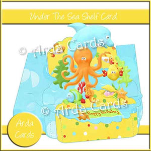 Under The Sea Shelf Card