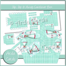 Load image into Gallery viewer, Up, Up & Away Cantilever Box - The Printable Craft Shop