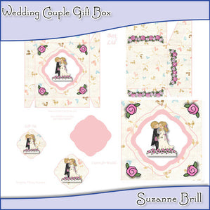 Wedding Couple Gift Box - The Printable Craft Shop