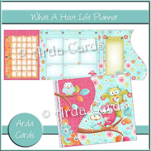 What A Hoot Life Planner - The Printable Craft Shop