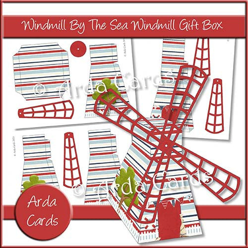Windmill By The Sea Windmill Gift Box - The Printable Craft Shop