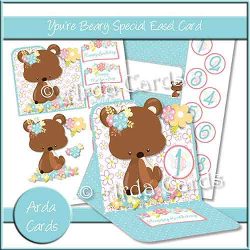 You're Beary Special Easel Card