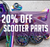 20% off Scooter Parts at Skate Connection Australia