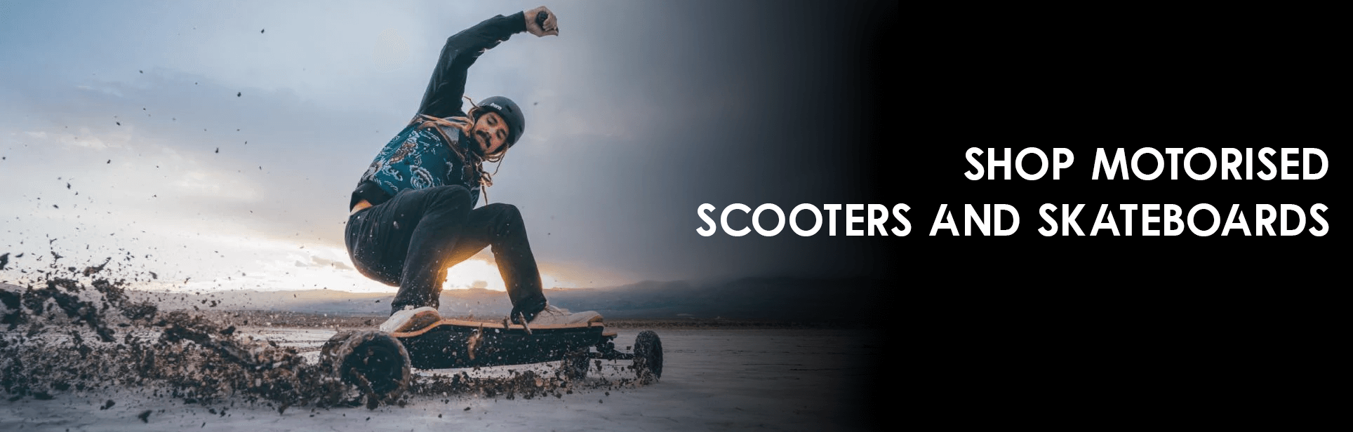 Shop Motorised Scooters and Skateboards at Skate Connection