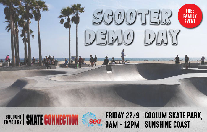 Scooter Demo Day - Coolum Skate Park