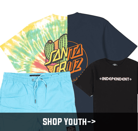 Shop Youth Apparel at Skate Connection Australia
