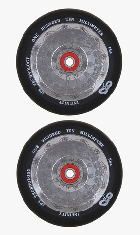 Infinity Hollow Core Wheels 110mm Mirror