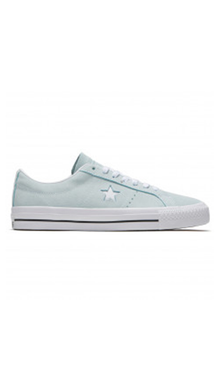 Converse One Star Pro Classic Suede Low Shoes Teal TintBlackWhite