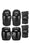 187 Junior Protective Pad Set Black - Skate Connection