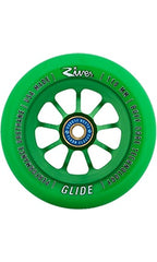 River Emerald Glides Wheels 110mm Green/Green