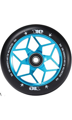 Envy Diamond Scooter Wheel Set 110mm Teal
