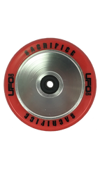 Sacrifice UFO Scooter Wheel Set 110mm Red/Silver