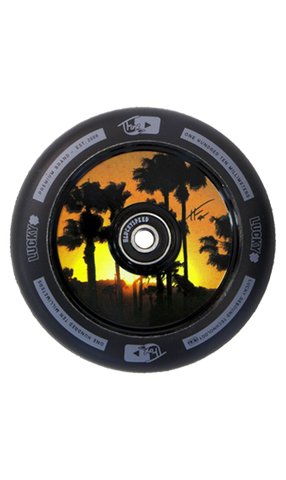Lucky Hollow Core Tanner Fox Signature Scooter Wheel Set 110mm Black