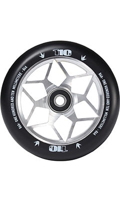Envy Diamond Scooter Wheel Set 110mm Silver