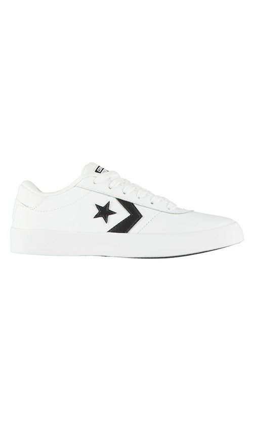 Converse Point Star Low Youth Shoes WhiteWhiteBlack