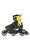Rollerblade Microblade 3WD Junior Inline Skates Black/Lime - Skate Connection