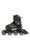 Rollerblade Phaser Flash Junior Inline Skates Black/Green - Skate Connection