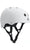 Triple 8 Brainsaver Dual Certified Helmet White Rubber