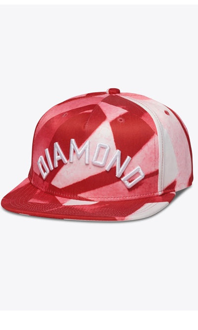 Diamond Hat Adjustable Simplicity Red
