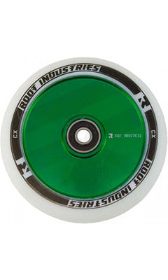Root Industries AIR Wheels 110mm White/Green